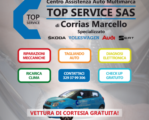 Centro Assistenza Auto TOP SERVICE sas di Corrias Marcello