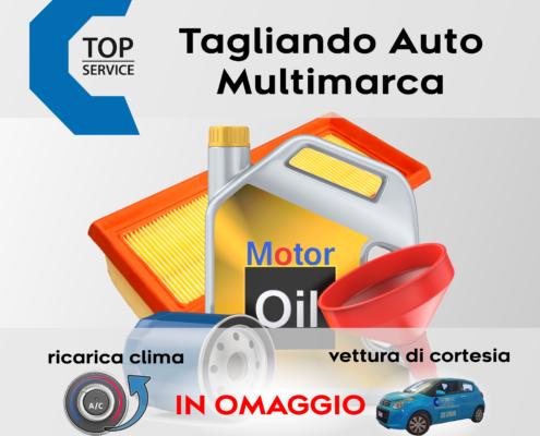 Tagliando Auto a Quartu Sant'Elena e Cagliari - RICARICA CLIMA GRATIS