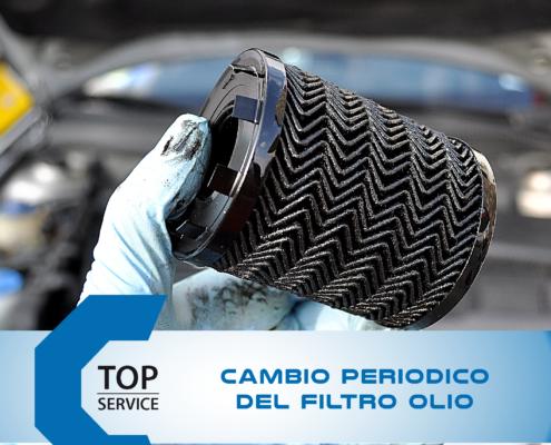 Cambio Filtro e Olio Motore Periodico da Top Service a Quartu Sant Elena