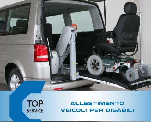 Trasformazione e allestimento veicoli per disabili a Cagliari | Top Service Centro Assistenza Auto