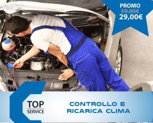 Controllo e ricarica climatizzatore a Quartu Sant'Elena e Cagliari da TOP SERVICE