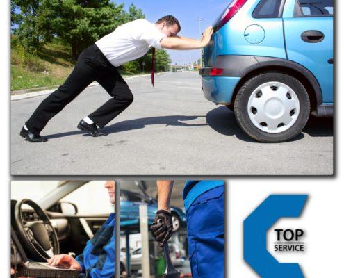 La tua auto ha un guasto? Portala da TopService ne avrai una SOSTITUTIVA GRATIS fino al termine della riparazioni necessarie!
