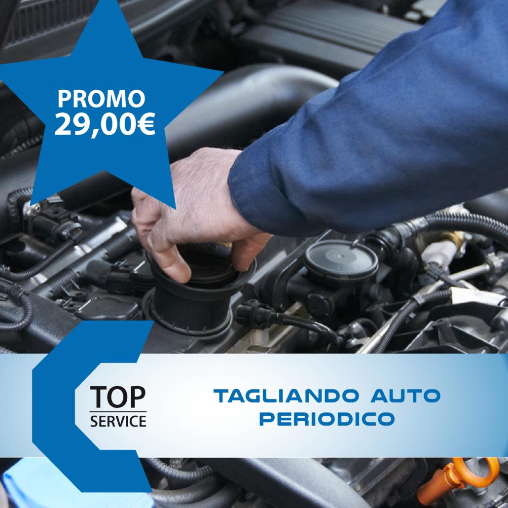 PROMO 29.00 € su TAGLIANDO AUTO* con VETTURA DI CORTESIA GRATIS | TopService sas a Quartu