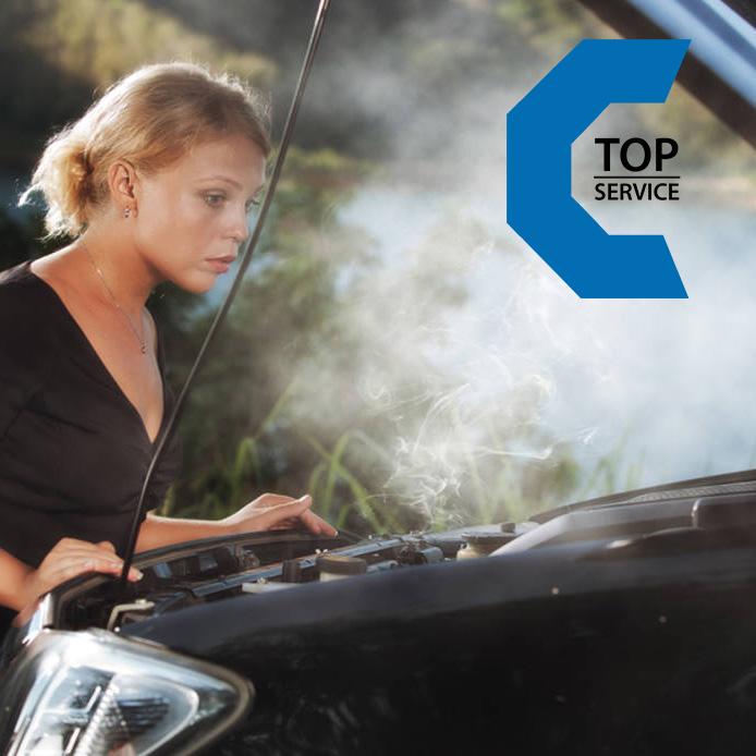La tua auto è in panne? Portala da TopService avrai GRATIS l'AUTO SOSTITUTVA fino a riparazione eseguita!