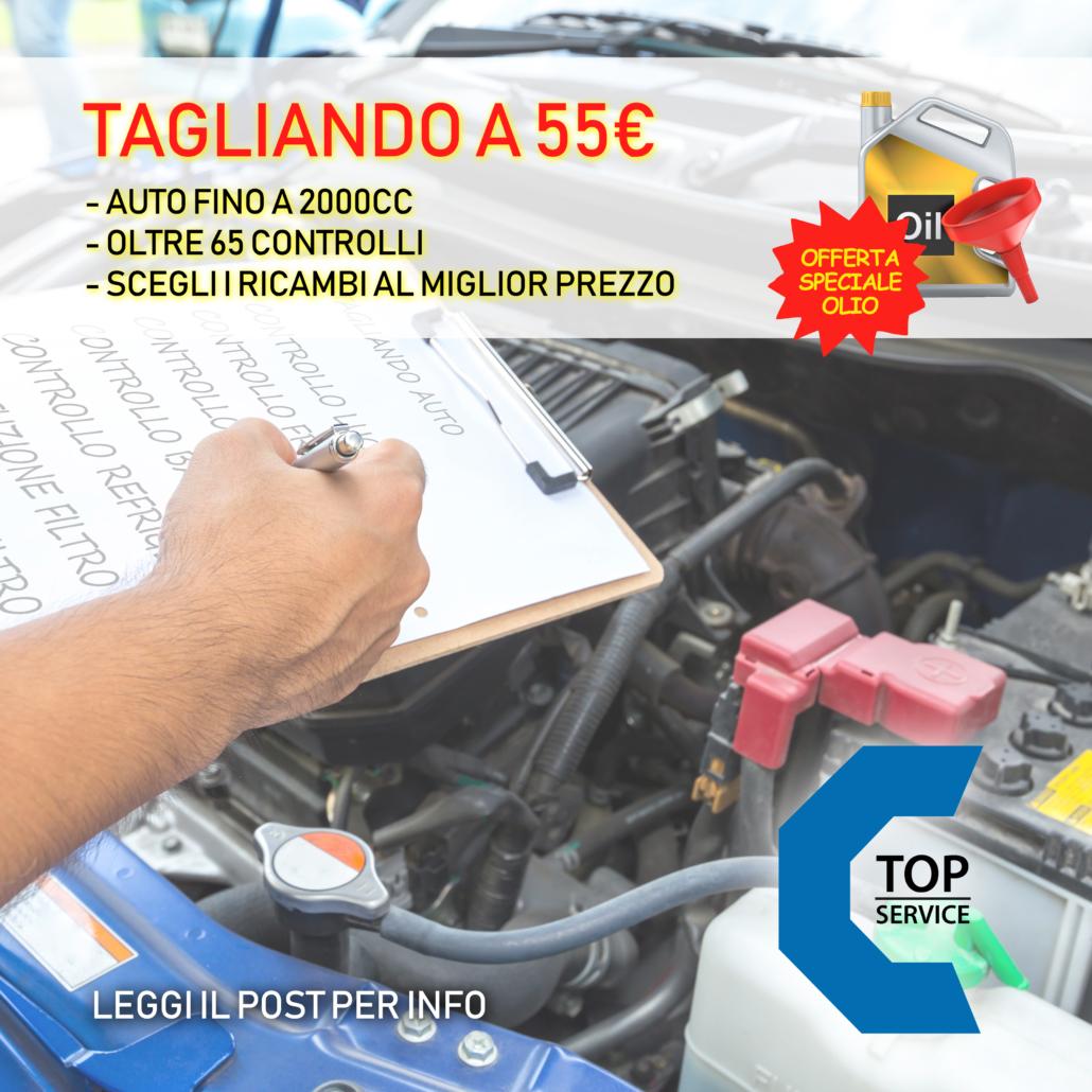 La tua auto deve fare il tagliando? scopri i vantaggi della promo Fase 2 Economy | TOP SERVICE SAS a Quartu Sant'Elena